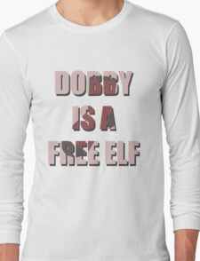 Dobby Is A Free Elf Long Sleeve T-Shirt