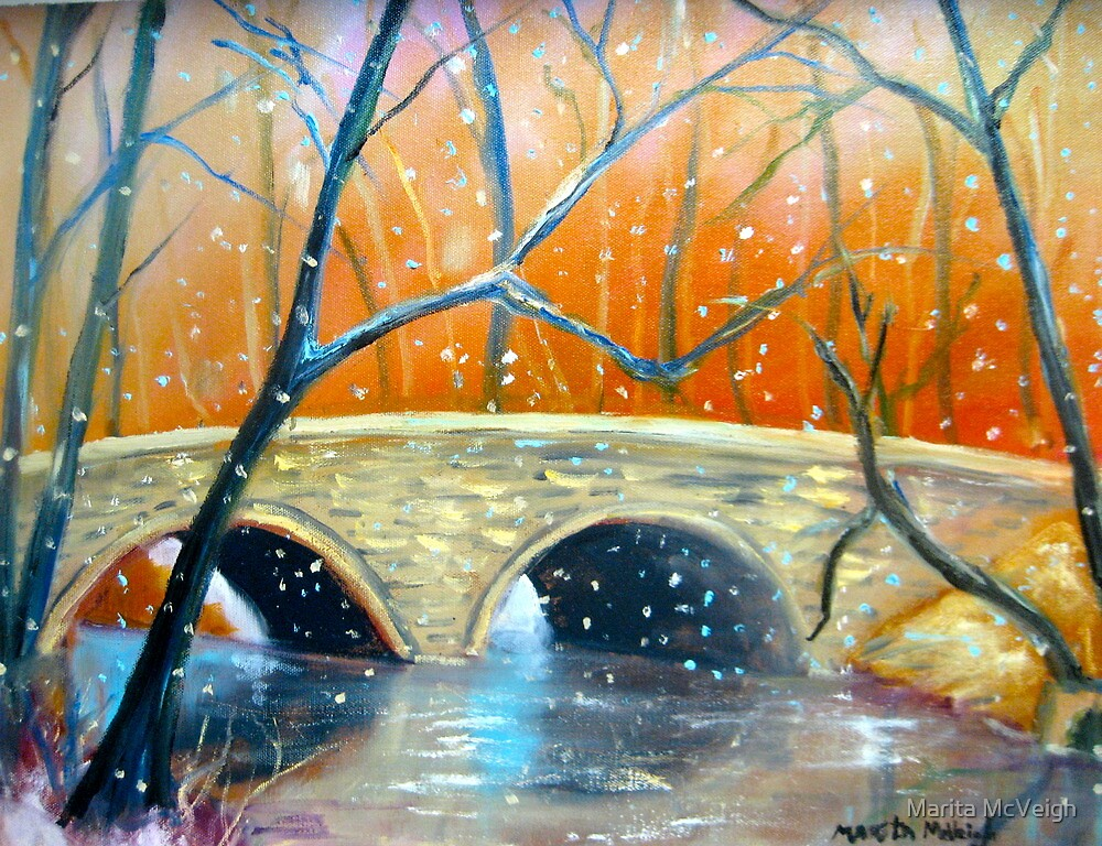 Wissahickon Winter by Marita McVeigh