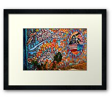 Native Art Framed Print