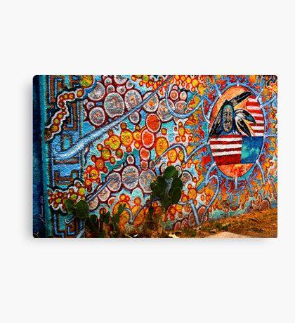 Native Art Canvas Print