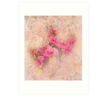 Pink on Pink Art Print