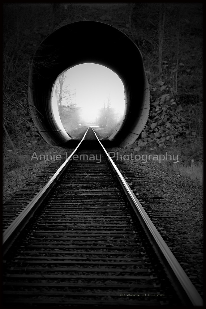 Train Tracks  by Annie Lemay  Photography