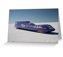 BONNEVILLE SPEED TRIALS 2008 Greeting Card