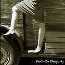 Just an Old Fashion Leg Up by CowGirlZenPhoto