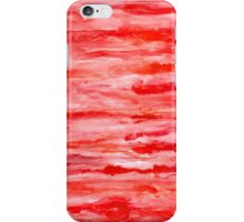 Abstract Watercolor Red iPhone Case/Skin