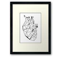 Stone Heart Framed Print