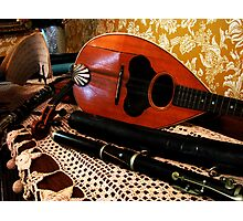Music of Days Gone By Photographic Print