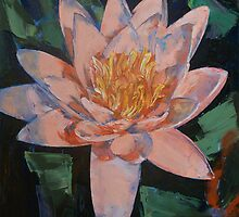 Pink Water Lily by Michael Creese