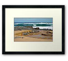 Thurra Breach Framed Print