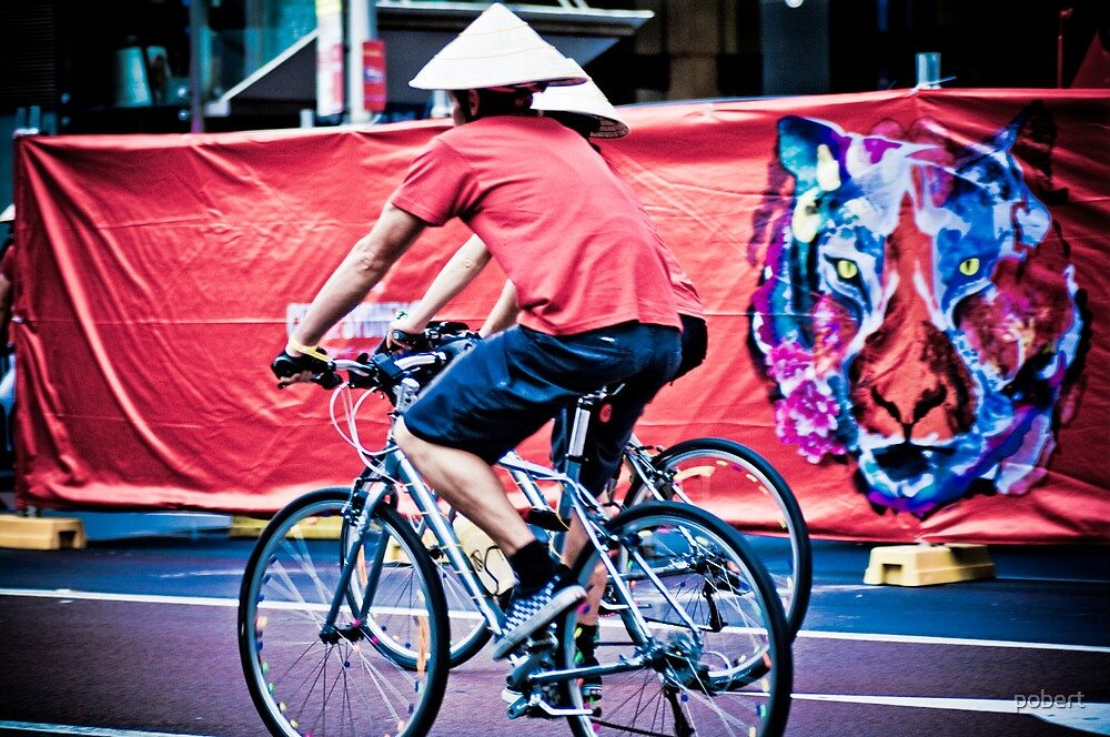 This man tried to show people how to ride a bike :D by pobert