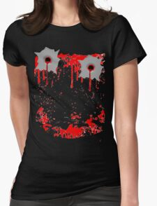 Smile Bullet Gore  Womens Fitted T-Shirt