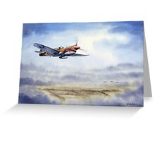 P-40 Warhawk Aircraft Greeting Card