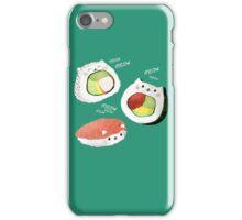 Cute Sushi Rolls iPhone Case/Skin