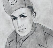 WWII Portrait by Blended