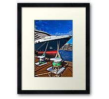The Queen Vic - SYDNEY - Australia Framed Print