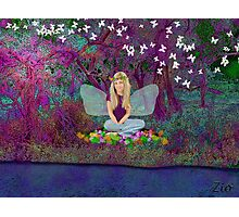 Teen Fairy's Magical Space Photographic Print