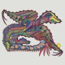 Polychromous Dragon by Joanne Jackson