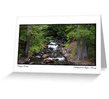 Card: Oregon Creek Greeting Card