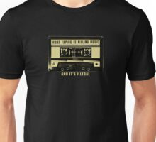 Home Taping Is Killing Music t shirt Unisex T-Shirt