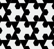Hexagonal Pattern Theme 01 by Keith Richardson