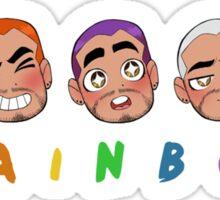 Rainbow Zayn Sticker