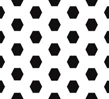 Hexagonal Pattern Theme 03 by Keith Richardson