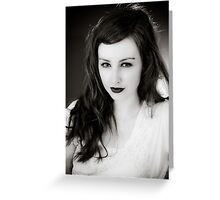 40's Glamour #6 Greeting Card