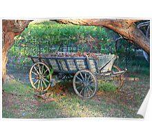 """Kingsbrook Wagon, Currency Creek, SA"" Poster"