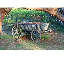 """Kingsbrook Wagon, Currency Creek, SA"" Photographic Print"
