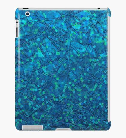 Sparkley Grunge Relief Background iPad Case/Skin