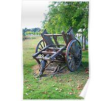 """"""" Wooden Wagon, Mt Barker, SA"""" Poster"""