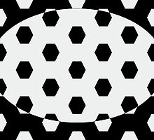 Hexagonal Pattern Theme 10 by Keith Richardson