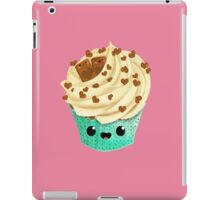 Cute Kawaii Vanilla Cupcake iPad Case/Skin