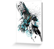 APB Reloaded Cool Enforcer Boy and Girl Greeting Card