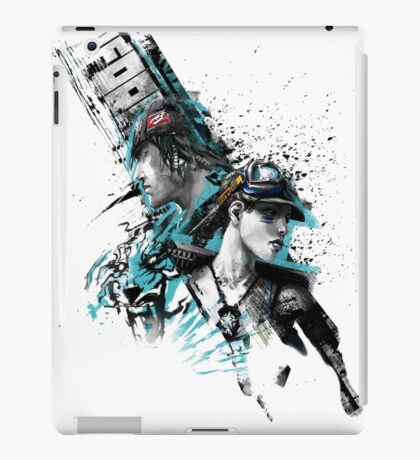 APB Reloaded Cool Enforcer Boy and Girl iPad Case/Skin