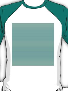 Green-Turquoise Stripes T-Shirt
