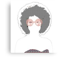 Psychedelic Babe Canvas Print