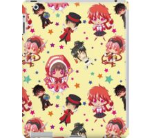 Group Clamp Texture iPad Case/Skin