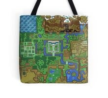 The Legend of Zelda: A Link to the Past Map Tote Bag