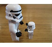 Dave Stormtrooper  Fathers Day Hug Photographic Print