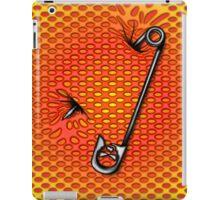 Sookie Skull Safety Pin Orange and Yellow iPad Case/Skin