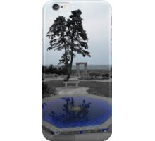 Reflections Of Blue iPhone Case/Skin