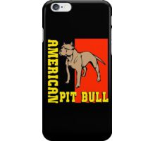 AMERICAN PIT BULL-2 iPhone Case/Skin
