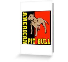 AMERICAN PIT BULL-2 Greeting Card