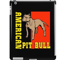 AMERICAN PIT BULL-2 iPad Case/Skin