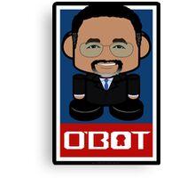 Ben Carson Politico'bot Toy Robot 2.0 Canvas Print