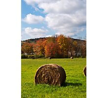 October Harvest Landscape Photographic Print