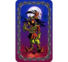 Majora's Mask - Skull Kid Card Photographic Print