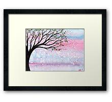 Spring Breeze Framed Print