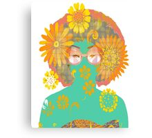 Psychedelic Babe II Canvas Print
